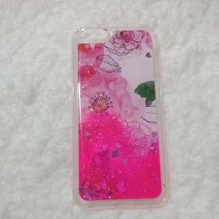 Iphone 6 glittery case