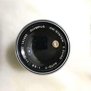 Olympus OM E-Zuiko AUTO-T 135mm f/3.5