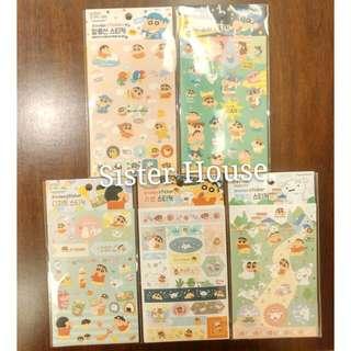(包郵)🇰🇷Crayon Shin-chan Sticker set 蠟筆小新貼紙套裝