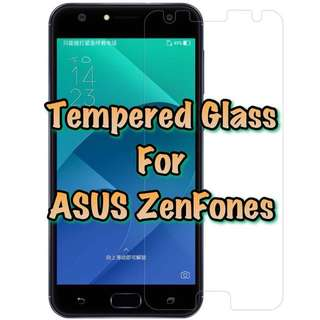 ASUS Zenfone Tempered Glass Collection