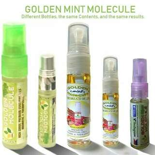 Golden Mint Molecule 5mL