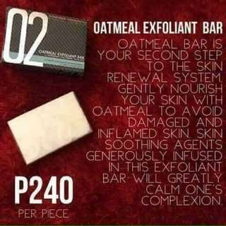 Oatmeal Exfoliant Bar