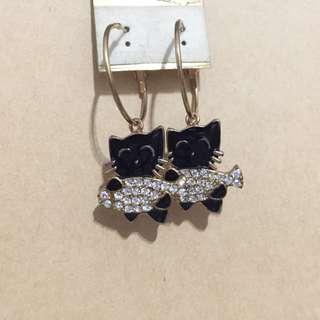 🚚 🎉降價🎉貓咪耳環