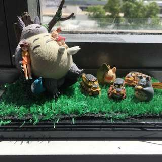 Totoro and friends figurine