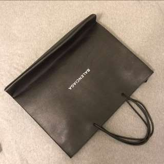 Balenciaga Leather Shopper Tote Size L
