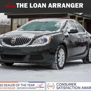 2016 Buick Verano with 59,483km and 100% Approved Financing