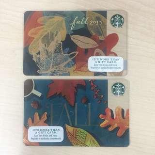 Starbucks Card Fall 2015 (US)