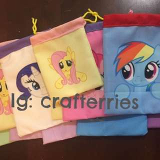 Pony party bags