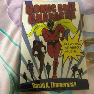 Choose 5 items for $15: Comic Book Character by David A Zimmerman