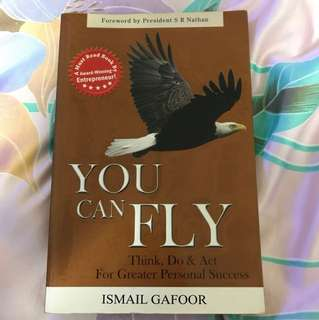 Choose 5 items for $15: You Can Fly by Ismail Gafoor