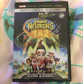 Choose 5 items for $15: Jimmy Neutron 1 &2