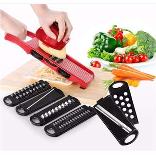6 in 1 Multi functional Kitchen Slicer