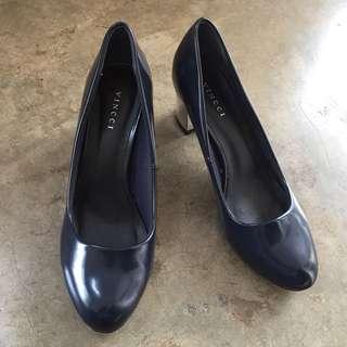 Vincci Chunky heels navy blue