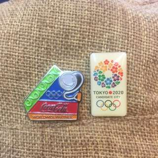 Olympic Pin Button