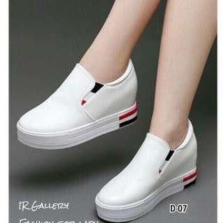 White loafer