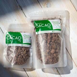 Organic Cacao Nibs ( coco sugar coated )