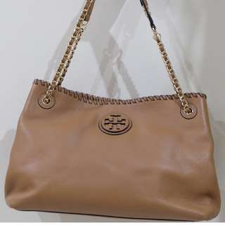 Tory Burch - Marion Chain, Shoulder Slouchy Tote