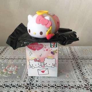 (情人節精選)7-11情人節限定版Hello Kitty愛神小天使公仔擺設Valentine's Day Limited Edition