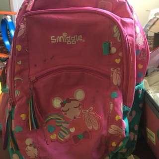 Smiggle backpack/schoolbag