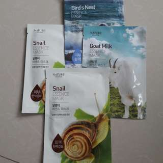 Facial Masks (set of 4)