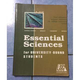 LSC Essential Sciences for University-Bound Students (Reviewer/Worksheet)