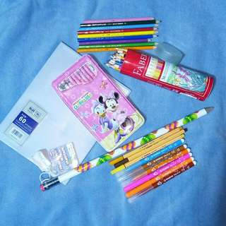 Take all STABILO, FABER CASTELL