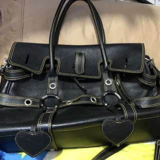 Pure leather bag from Japan