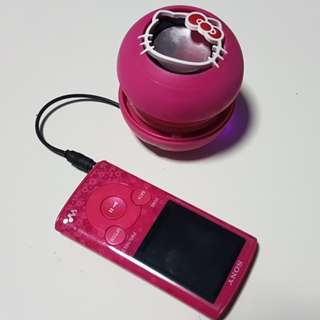 Hello Kitty Pink Portable Speaker