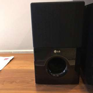 LG 5.1 Speakers set