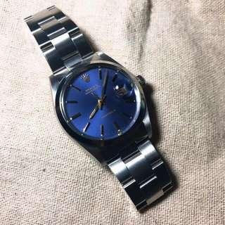 Rolex 6694 藍面金針(罕有)