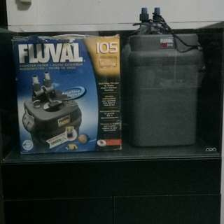 Fluval 304 Used & Fluval 105 New(Sold)