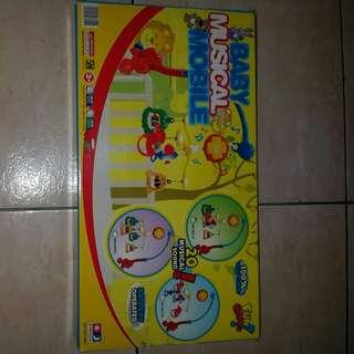 Diskon 30% Baby musical mainan gantung bayi