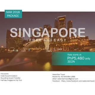 AFFORDABLE SINGAPORE PROMO PACKAGE