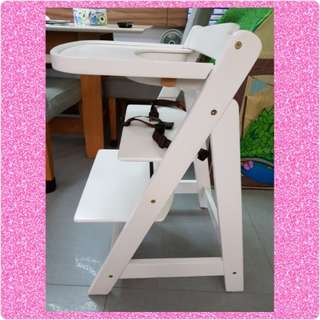 BNIB Baby High Chair Wood