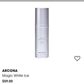 New 15ml ARCONA Magic White Ice