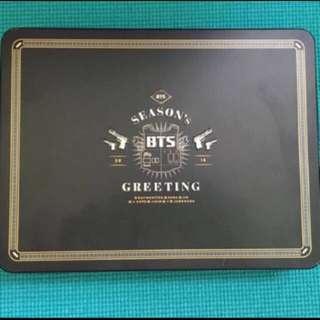 BTS Seasons Greeting 2016 KPOP Bangtan