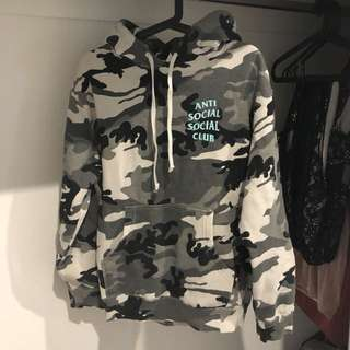 Anti social social club Melrose ave hoodie ASSC
