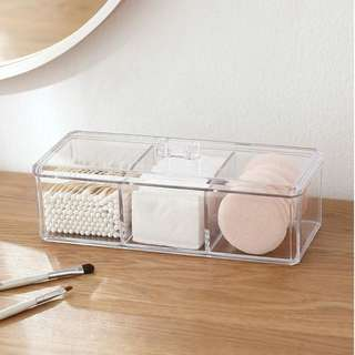 Ready stocks Acrylic Storage box cosmetic  #Huat50Sale