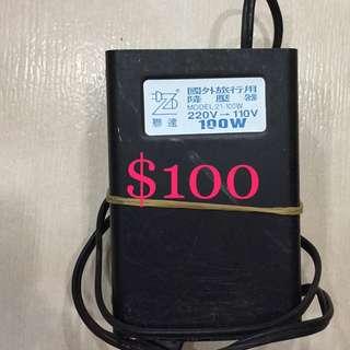 100w 變壓器