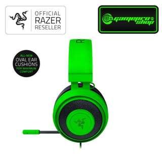 Razer Kraken PRO V2 Gaming Headset BLACK/WHITE/GREEN
