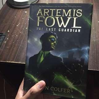 ARTEMIS FOWL - THE LAST GUARDIAN (HARDBOUND)