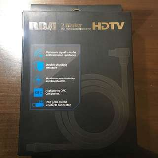 RCA 2 meter TV cable for HDTV