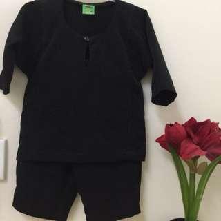 Baju Melayu Baby (Black color)