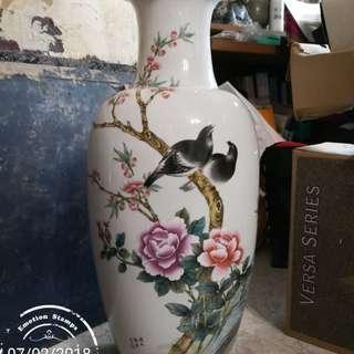 旧江西轻工部陶瓷研究所花瓶