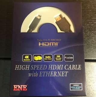 全新HDMI線-連手機至電視觀看