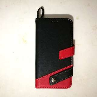 Iphone X Leather Case with Card Holder