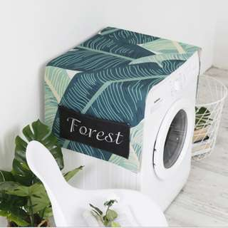 Natural Leaves Washing Machine Cover  #Huat50Sale