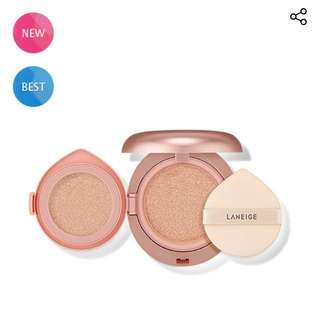 *NEW* Laneige Layering Cover Cushion In Shade 21