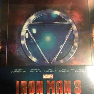 Iron Man 3 Blu Ray 2 Disc
