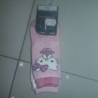 Mothercare Hello Kitty Socks 3 Pairs😻